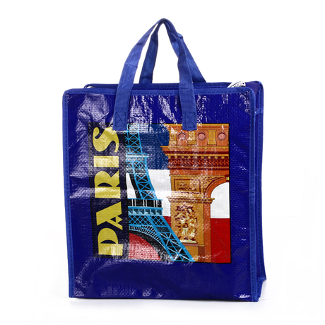 reusable plastic shopping bags