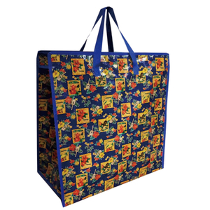 black reusable grocery bags