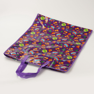 shopping cart reusable bags