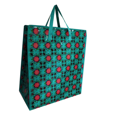 logo reusable grocery bags