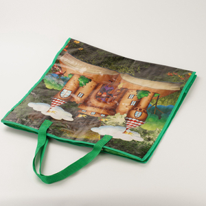 vinyl reusable shopping bags