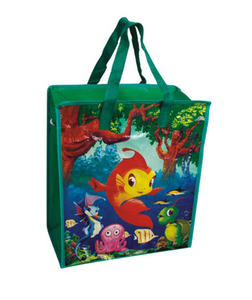 designer reusable shopping bags